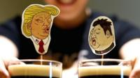 Trump and Kim cocktails