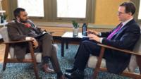 Amol Rajan and Sir Nick Clegg