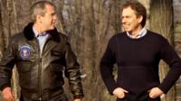 Bush and Blair
