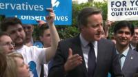 David Cameron in Peterborough