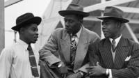 Members of the Windrush generation