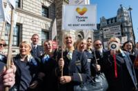 Thomas Cook protest