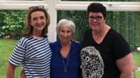 Maren and Margaret saw journalist Victoria Derbyshire speak about her breast cancer on The Real Full Monty.