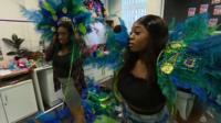 Carnival performers