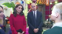 Prince William and Kate talk to Josh about mental health