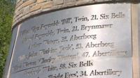 Six Bells memorial
