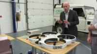 Theo Leggett in Sellafield with new technology