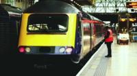 Platform and train