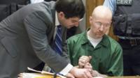 David Sweat in court