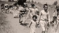 Palestinian refugee children