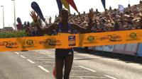 Mary Keitany wins the Great North Run for Kenya