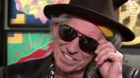 Keith Richards at the Saatchi Gallery in London