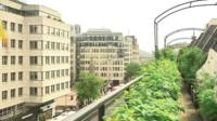 Coutts rooftop garden