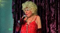 David Raven, UK's oldest drag artist
