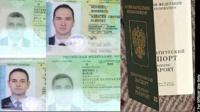 Russian diplomatic passports of the alleged Russian agents