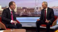 Andrew Marr with David Lidington