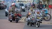 Mods in Brighton