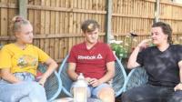 Issy, Nick and Josh Binnell