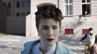 A digital recreation of woman from Berlin in 1961