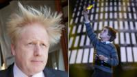 Boris Johnson and Charlie and the Chocolate Factory