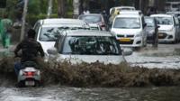 Heavy rains in Delhi