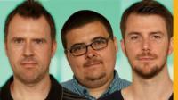 John, Tony and Brad