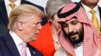 ترامب يكرر دوما أن بلاده مستعدة لحماية السعودية ولكن على الأخيرة أن تدفع