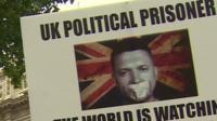 Rally to support Tommy Robinson