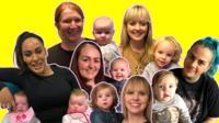 Six new mums
