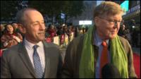 Nicholas Hytner and Alan Bennett