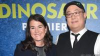 The Good Dinosaur's producer Denise Ream and director Peter Sohn