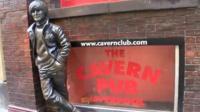 John Lennon statue outside the Cavern