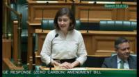 Chlöe Swarbrick speaks in parliament