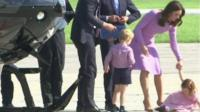 Princess Charlotte threw herself on the ground