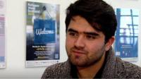 Feroz is a refugee from Afghanistan