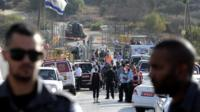 Scene of attack at Har Adar (26/09/17)