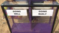 Daily Politics moodbox in Ramsgate