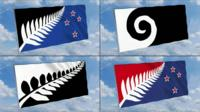 New flag designs for New Zealand