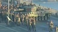 Turkish soldiers surrender on Bosporus bridge