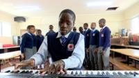 Yongren Otindo is a visually impaired pianist