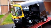 Callam Fairhurst from Soham is about to visit all 28 European Union countries in a tuk-tuk.