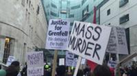Протест у Би-би-си