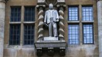 Cecil Rhodes statue