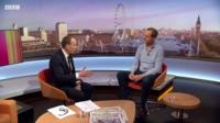 Andrew Marr speaking to Nick Boles MP on the Marr Show
