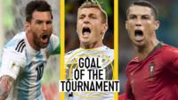 Lionel Messi, Tony Kroos and Cristiano Ronaldo