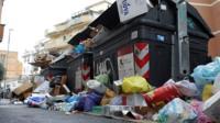 rome rubbish