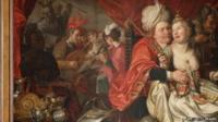 "Jacob Waben""s ""Vrouw Wereld"" (""Lady World"") (1622),"