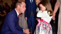 Prince William and Suzie McCash