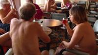 naturists at Dunoon hotel