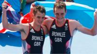 GB's Alistair and Jonathan Brownlee